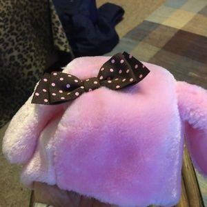 Gymboree 0-3 Months Pink Faux Fur Infant Hat
